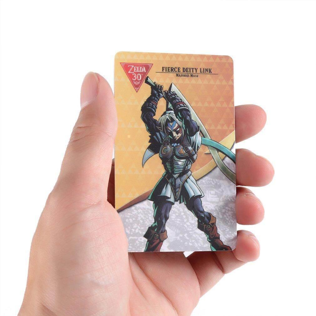 TE Fierce Deity Link Majora's Mask Amiibo NFC TAG Breath of the Wild
