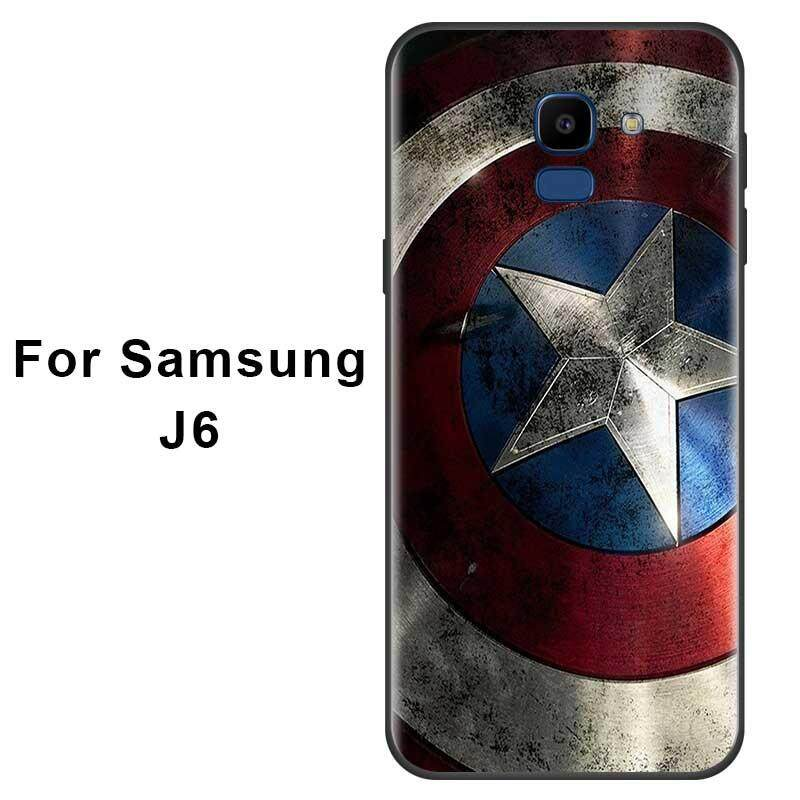 galaxy j6 coque marvel