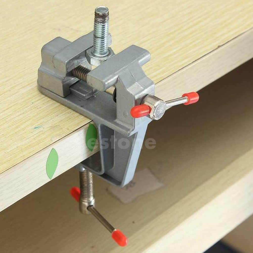 Incredible 3 5 Aluminum Small Jewelers Hobby Clamp On Table Bench Vise Mini Tool Vice Ky Gmtry Best Dining Table And Chair Ideas Images Gmtryco