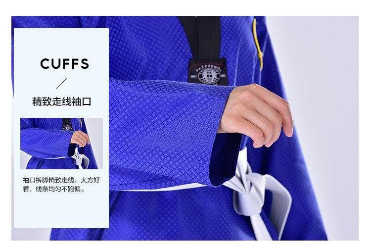 Võ phục Taekwondo Dobok xanh dương - ảnh 10