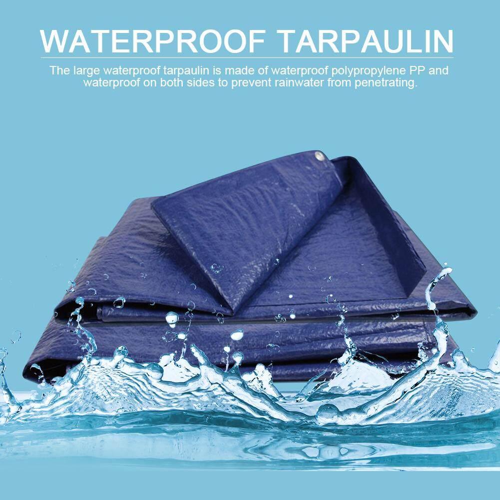 Tarpaulin Heavy Duty Waterproof Truck Furniture Cover Ground Camping Sheet Sizes