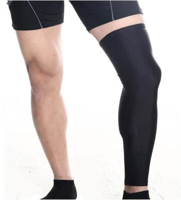 New Cycling Bike Bicycle Leg Warmer Guard Knee Warm Sun UV Protection Black