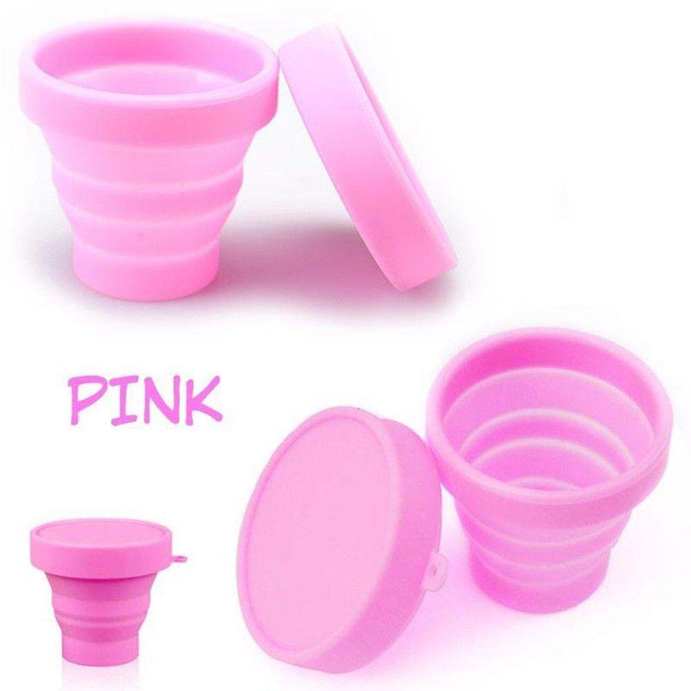 Water Cup Candy Colors Travel Mug Telescopic Collapsible Soft Drinking Cup