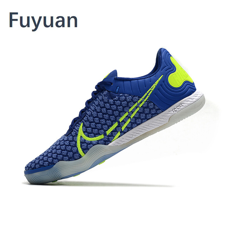 Low Ankle Football Shoes Knitting Lace