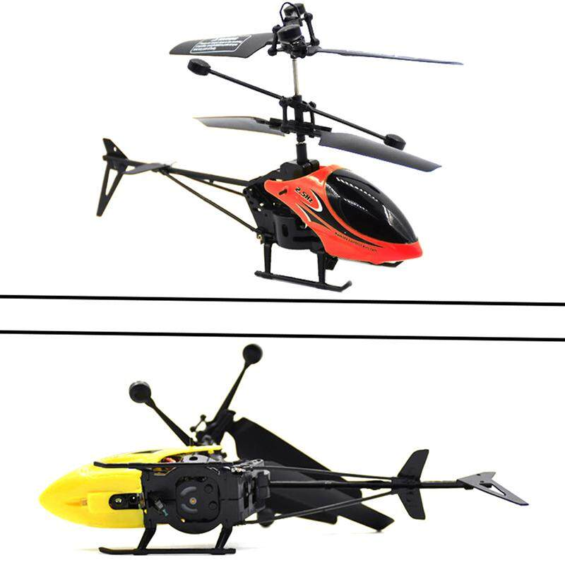 Aliname Rc Helicopter Mini Rc Drone With Gyro Crash Resistant Rc Toys For  Boy Kids Gift Yellow
