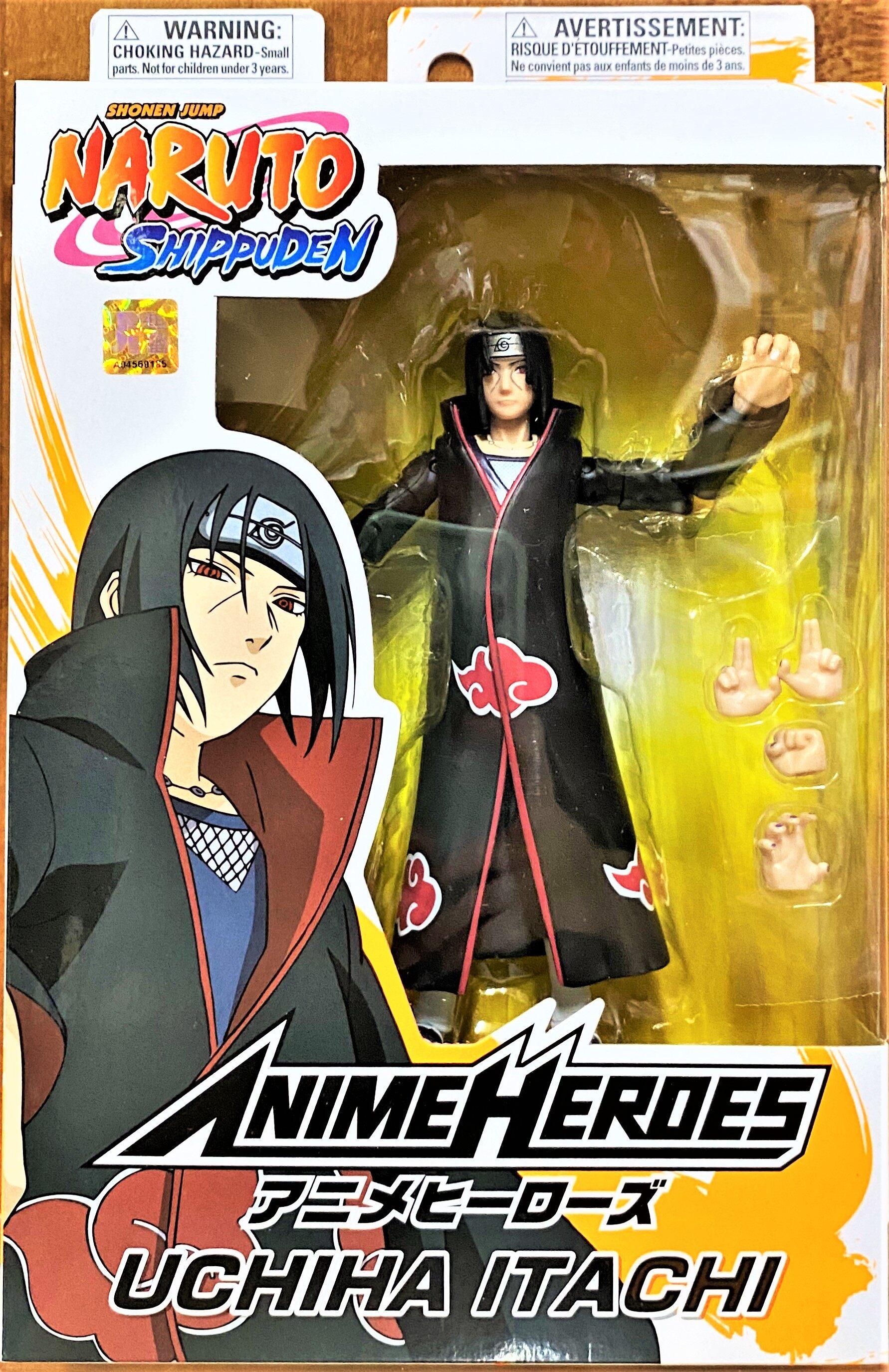 Bandai Anime Heroes Naruto Shippuden Itachi Uchiha