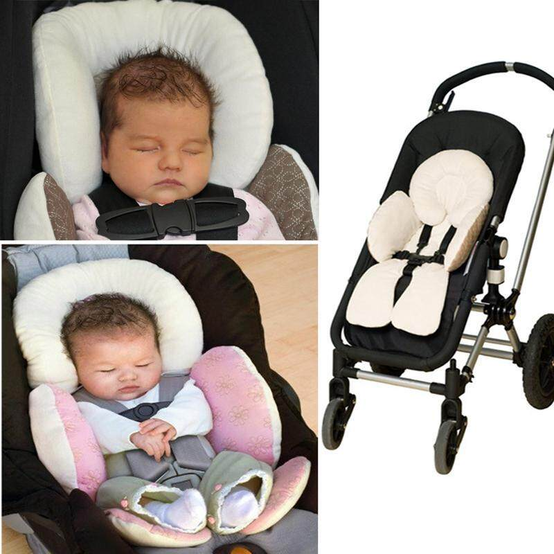 Aolvo Baby Body Support Padding Pushchair Head Support Newborn Head Support Pillow Cushion For Pushchair Stroller Baby Car Safety Seat