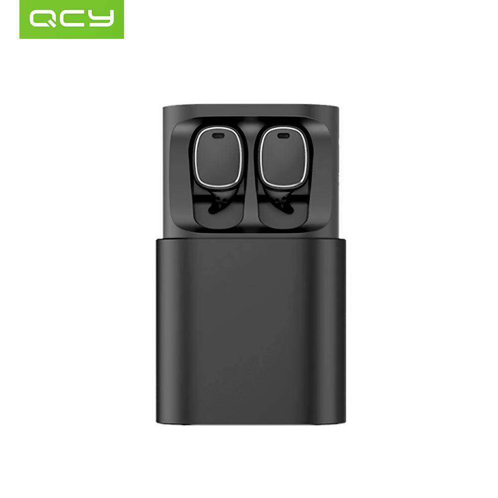 d6bde62b737 Product details of QCY T1 Pro TWS BT Wireless Earphone Mini Sports Earbuds  with Mic Wireless Headsets Touch Control with Charging Case For iOS Android  ...