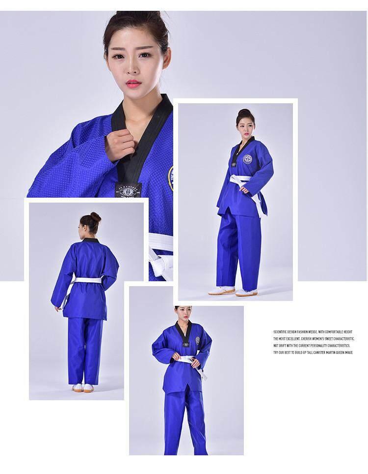 Võ phục Taekwondo Dobok xanh dương - ảnh 8