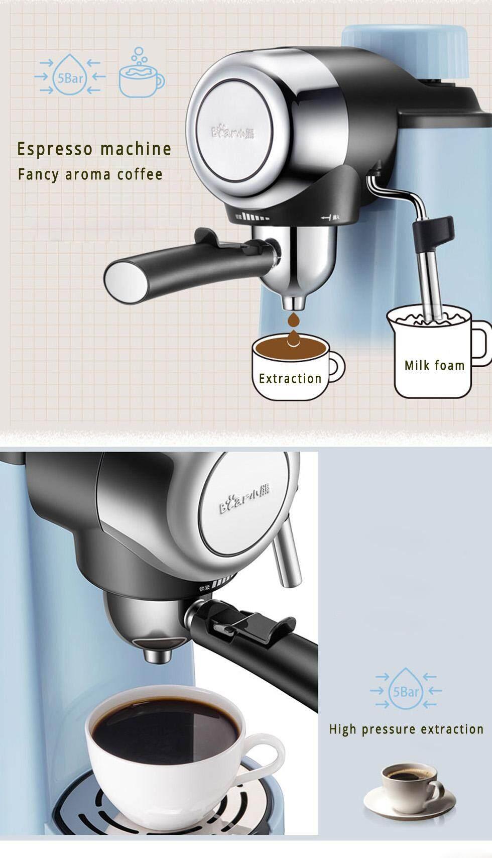 Coffee maker home full-automatic coffee maker American high-pressure tea  drinker