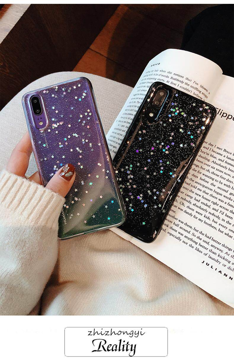 Luxury Star Glitter Phone Cases For Huawei P20 P30 Mate 20 Pro Case Shining  Back Cover For Huawei Nova 2S 3 3i 3E P10 Plus Honor 9 10 Lite V20 V10