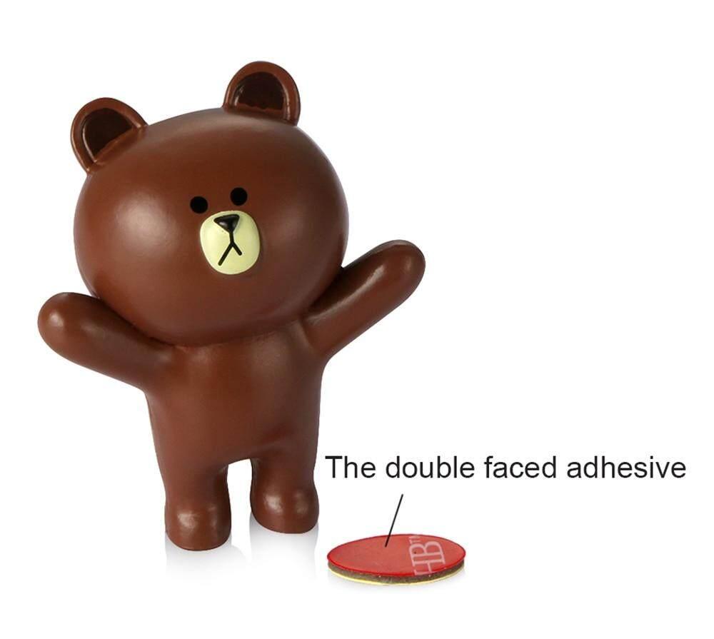 6 Pcs Set Dekorasi Mobil Indah Mini Kelinci Dan Beruang Patung Patung Tas Boneka Lucu Kartun Binatang Atau Mobil Interior Ornamen Aksesoris