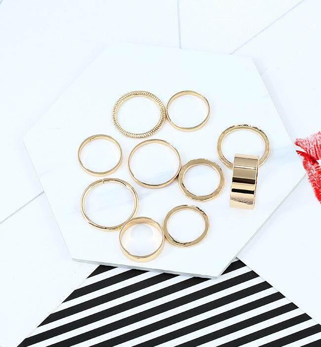 Spesifikasi dari Korea Selatan Gaya Barat Cincin murid buatan tangan halus orang trendi minimalis cincin sendi asli Jepang Korea perempuan sedikit jari ...