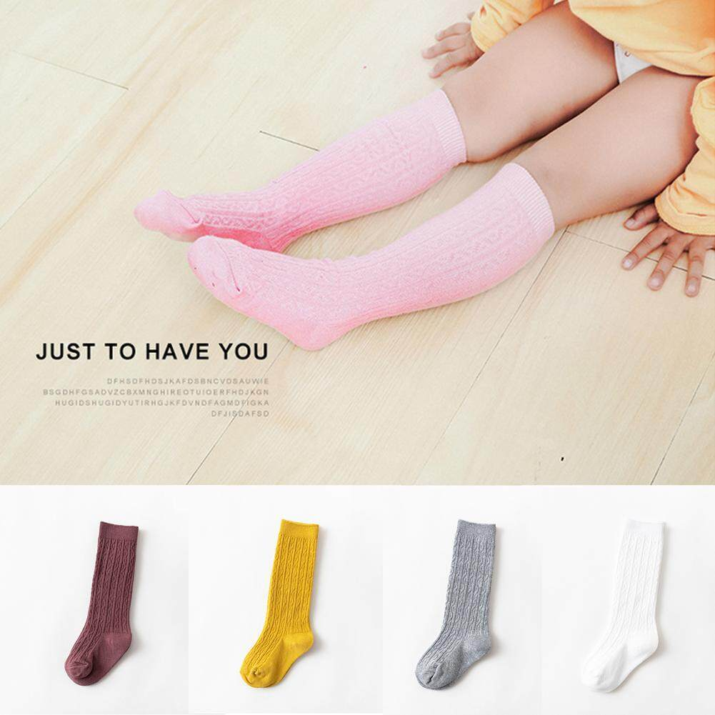 Pair Colorful Stripes Baby Toddler Kids Children Leg Warmers Leggings Socks R TOOGOO