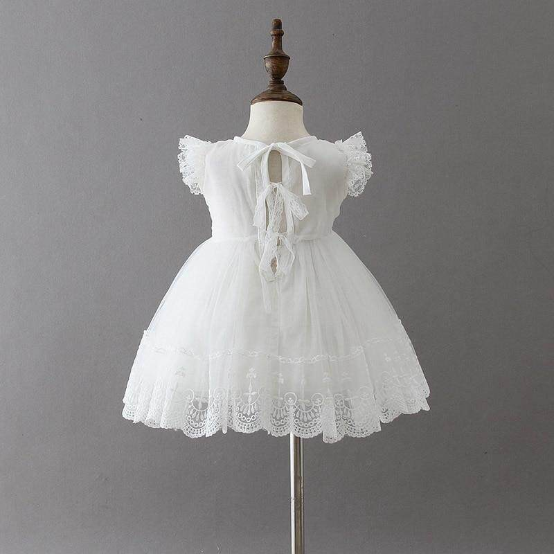 9a98b0d29 ... Baby Girl Dress Baptism Dress for Girl Infant 1-2 Years old birthday  party wedding ...