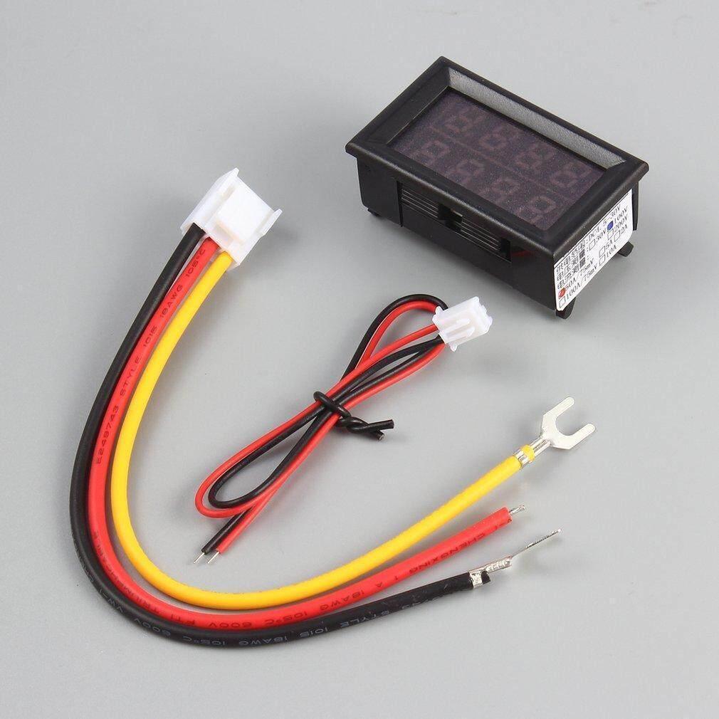 New 100v 50a Dc Digital Voltmeter Ammeter Led Amp Volt Meter