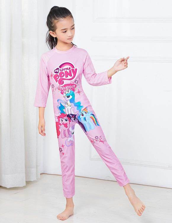 a7a69c31bed75 Specifications of 【Ready Stock - Fast Delivery】Cartoon Design One Piece Girls  Long Sleeve Swimsuit Children's Swimwear Summer Kids Beach Wear - Little ...