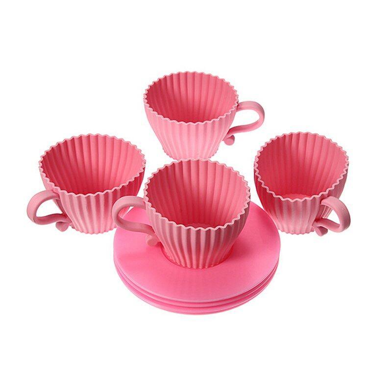 Long Xi Transparan Sabuk Penutup Sabuk Menempatkan Penyaring Cangkir Source · 4 Pcs Cangkir Cupcake Kue