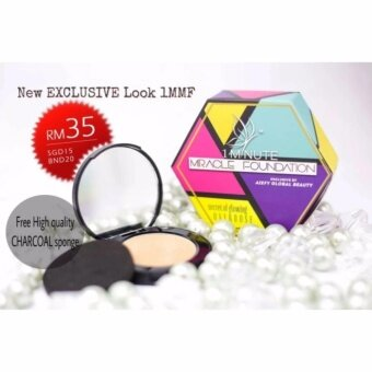 1 MINUTE MIRACLE FOUNDATION (1 MMF) +FREE BLACK CHARCOAL SPONGE