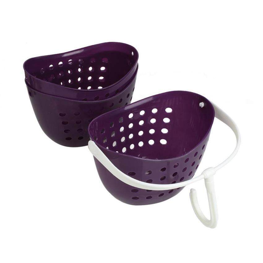 Portable 3 Tier Hanging Shower Bathroom Shower Caddy Basket ...