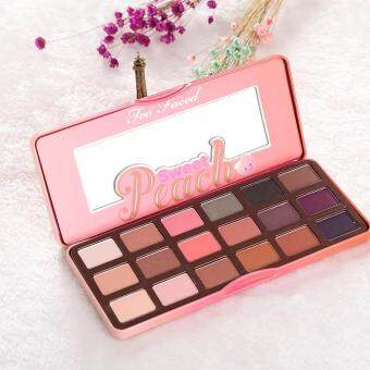 18 Colors Women Makeup Beauty Sweet Juicy Peach Eye Shadow Collection Palette