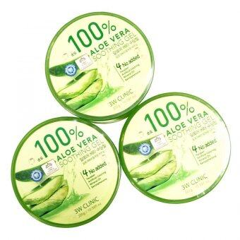 3W Clinic 100% Aloe Vera Soothing Gels - 4