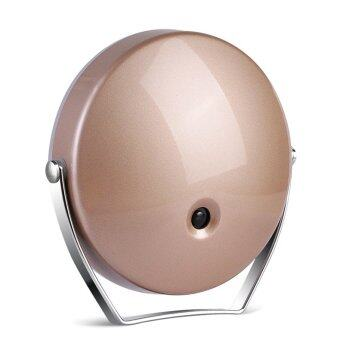 3x Magnifying LED Make-Up Mirror (Champagne Gold) - 2