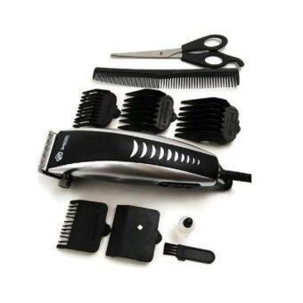 9Pcs Jinghao Hair Clipper Set (Attachment combs + Scissors + Barber comb +  Cleaning brush 3ab947cb1e