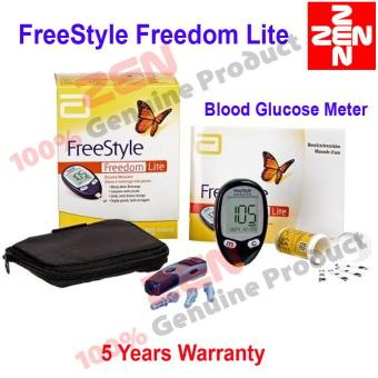 Harga Abbott FreeStyle Freedom Lite Glucometer Blood Glucose Meter(Test Strip Not Included)