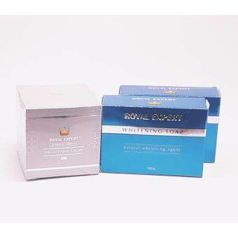 Advance Fomula Brigthening Cream (50ml) + Royal Expert Whitening Soap (100g) x 2 pcs