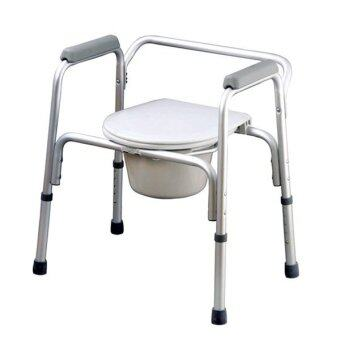 AQ Medicare Aluminium Commode Chair CMC1250