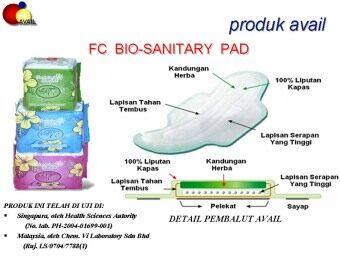 Avail Bio Sanitary Pantyliner - 6 Units - 2