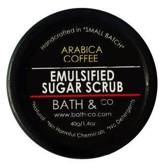 Harga Bath & Co Emulsified Sugar Scrub Arabica Coffee 40gm