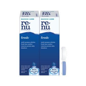 BAUSCH & LOMB Renu Fresh Multi Purpose Solution Travel Pack 2X120ML