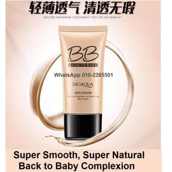 Harga Bioaqua Back to Baby Flawless BB Cream (40g) - Moisturizing Natural Beauty Make up Concealer Oil Control Liquid Foundation NATURAL