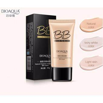 Harga BIOAQUA BACK TO BABY FLAWLESS MOISTURIZING BB CREAM 40g - LIGHT BEIGE