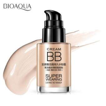 BIOAQUA Super Wearing Persistent BB Cream Long Lasting MoisturizingLiquid Foundation 30ml (Natural)