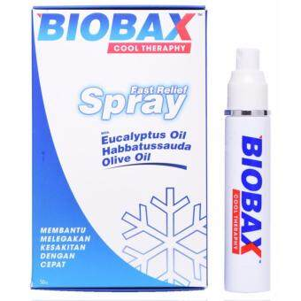 Harga BIOBAX COOL THERAPHY FAST RELIEF SPRAY