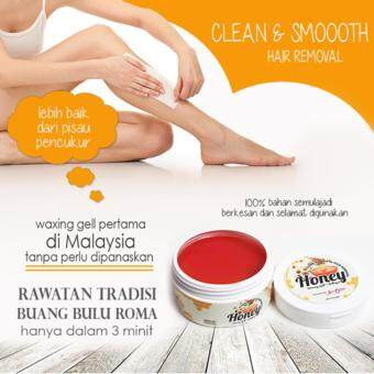 Harga Clean And Smooth Honey Waxing Gel Hair Removal by Aura Jelita