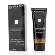 Dermablend Leg Body Buildable Liquid Body Foundation Sunscreen Broad Spectrum SPF 25 - #Deep Natural 85N 100ml