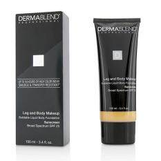 Dermablend Leg Body Buildable Liquid Body Foundation Sunscreen Broad Spectrum SPF 25 - #Light Sand 25W 100ml