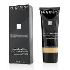Dermablend Leg Body Buildable Liquid Body Foundation Sunscreen Broad Spectrum SPF 25 - #Fair Ivory 10N 100ml