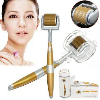 Harga DR Luxury Titanium Micro Needle Derma Roller Meso Roller For Acne Scar Freckle 0.5mm