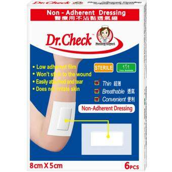 DR.CHECK Non-Adherent Dressing 6s 6S