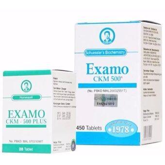 Examo CKM 500 + Examo CKM 500 Plus Era Edar (Combo Pack)