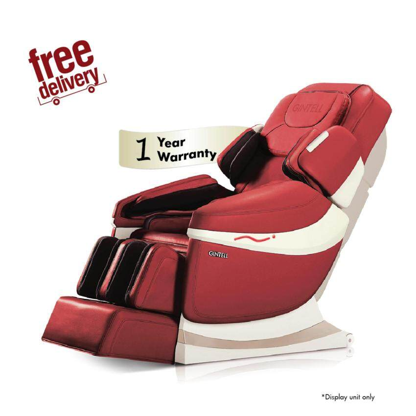 GINTELL DeAero Touch Massage Chair (Red) - Showroom Unit