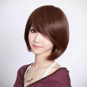 Girl With Short Hair Fluffy Bob Wig Lazada Malaysia - Short hair bob girl