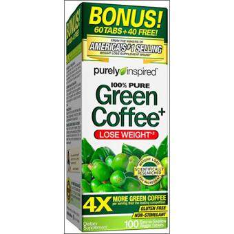 Green Coffee 100% Pure Purely Inspired 100 Tablets