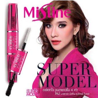 Harga MISTINE 4D Super Model Miracle Lash Mascara (Imported from Thailand - Original)
