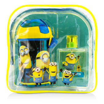Harga Air Val International Minions Coffret: Eau De Toilette Spray 50ml/1.7oz + Water Bottle + Backpack 2pcs+1bag